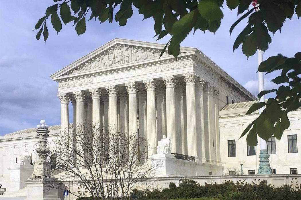 El edificio de la Corte Suprema en Washington, D.C. (Jessica Gresko / AP)