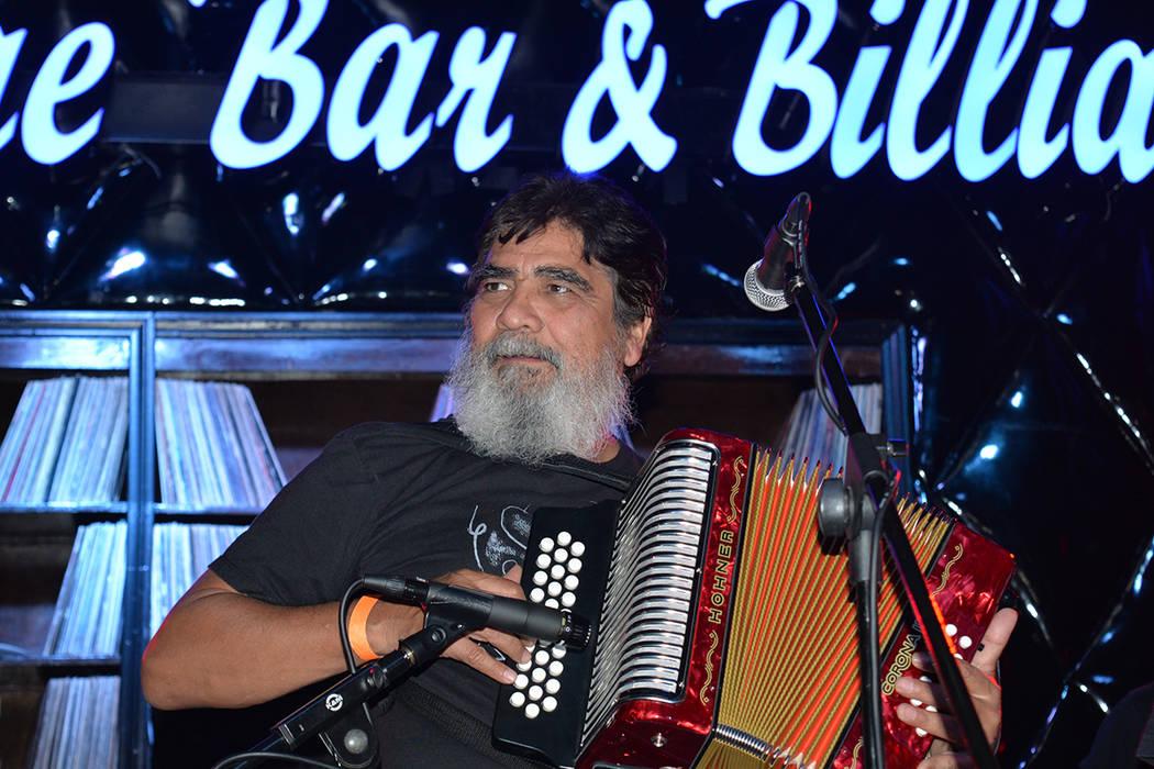 Celso Piña y su Ronda Bogotá en Las Vegas. Jueves 21 de junio en el Backstage Bar & Billiards. Foto Frank Alejandre / El Tiempo.