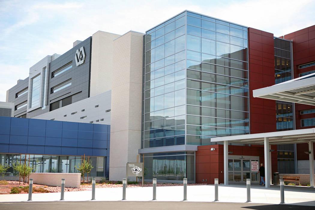 El Veterans Affairs Medical Center, ubicado en 6900 N. Pecos Rd., North Las Vegas. (Las Vegas Review-Journal)