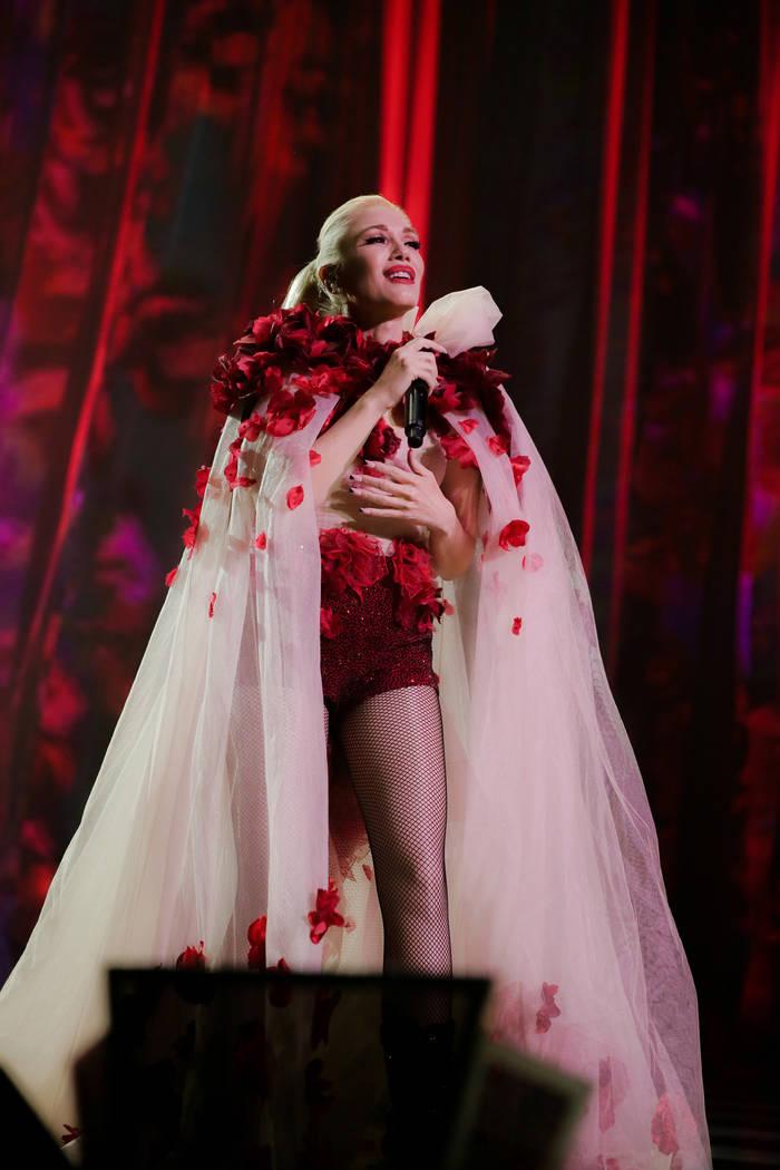 Gwen Stefani abrió su residencia con la grandeza de Las Vegas en el Teatro Zappos en Planet Hollywood, el miércoles 27 de junio de 2018. (Todd Stefani)