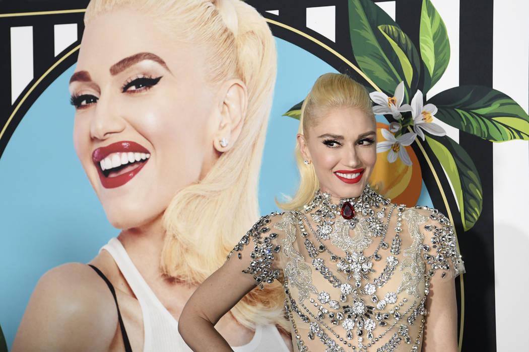Gwen Stefani llega a la alfombra roja para su nueva residencia en Planet Hollywood en Las Vegas, el jueves 28 de junio de 2018. (Sam Morris / Las Vegas News Bureau)