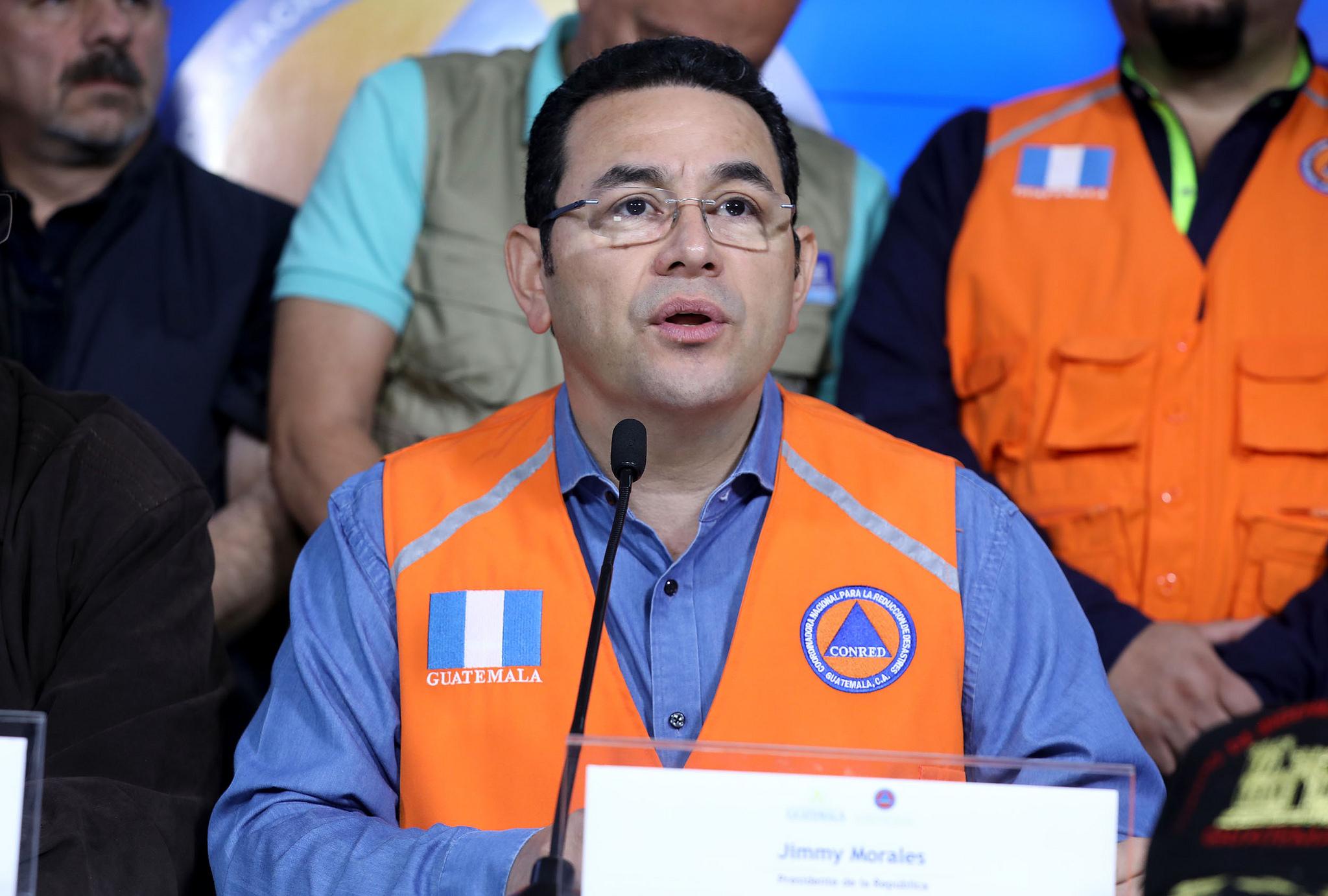 Guatemala en alerta roja por Volcán de Fuego