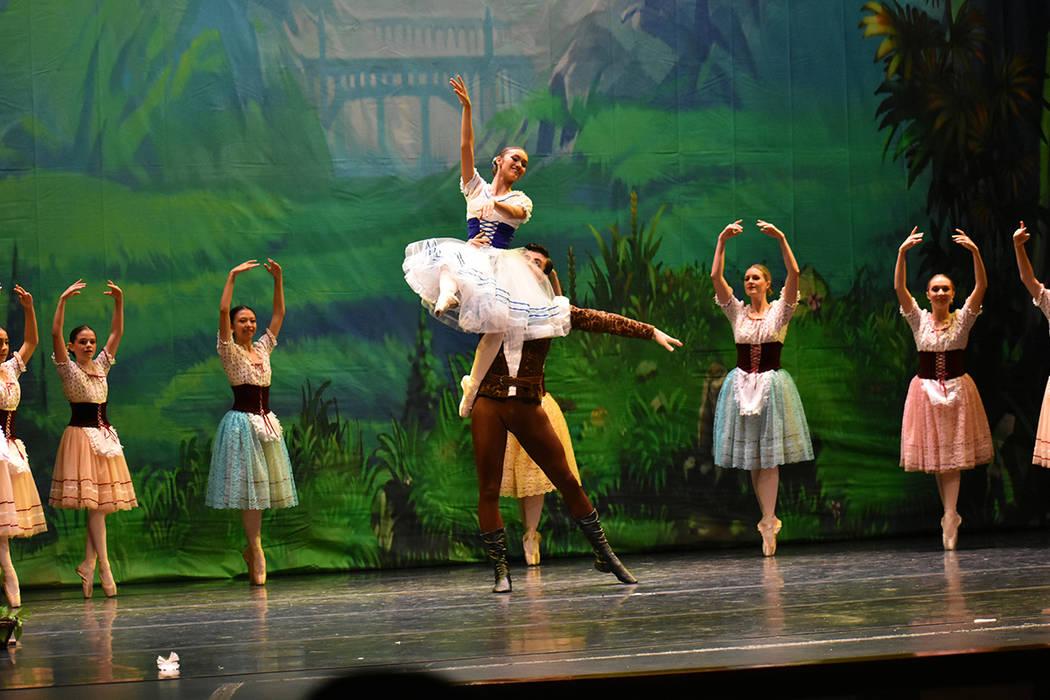 Giselle es una obra de ballet que fue representada por Las Vegas Ballet Company (LVBC). Sábado 23 de junio de 2018 en Summerlin Performing Arts. Foto Anthony Avellaneda / El Tiempo.