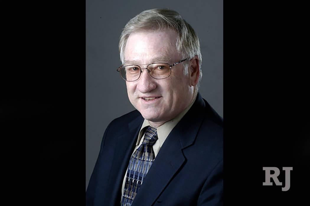Superintendente Asociado del Distrito Escolar del Condado de Clark Edward Goldman (Las Vegas Review-Journal)