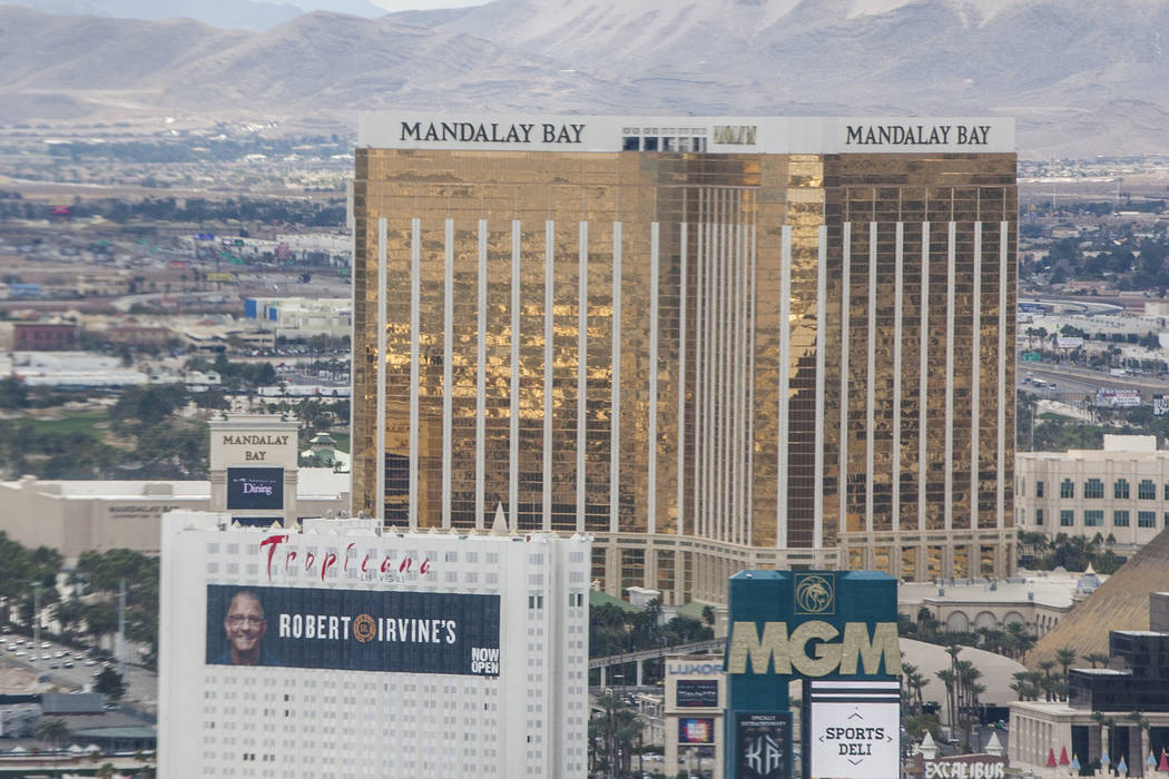 Mandalay Bay (Patrick Connolly/Las Vegas Review-Journal)