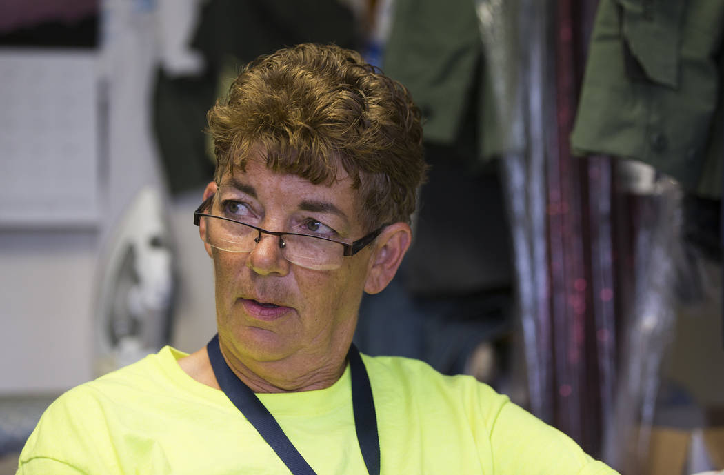 La alcaldesa de Ely, Melody Van Camp, habla sobre la ejecución planeada de Scott Dozier, programada para el miércoles en la prisión estatal de Ely, en Ely, el martes 10 de julio de 2018. Chase ...