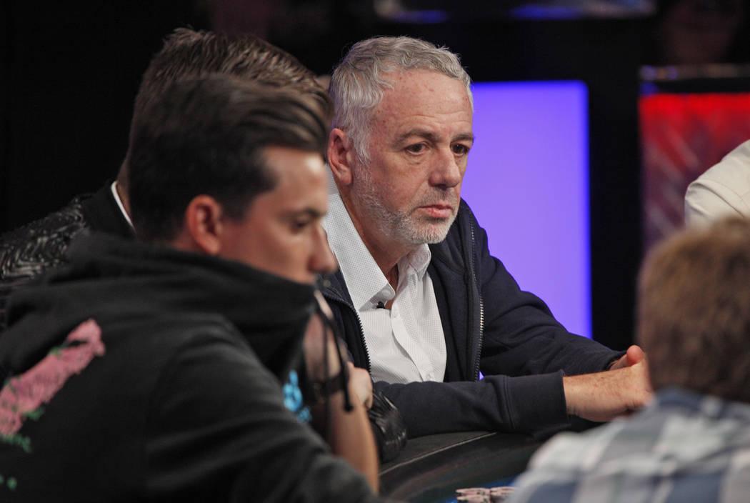 Harri Bercovici en el séptimo día de la World Series of Poker en el Río Convention Center en Las Vegas, miércoles, 11 de julio de 2018. (Rachel Aston / Las Vegas Review-Journal) @rookie__rae