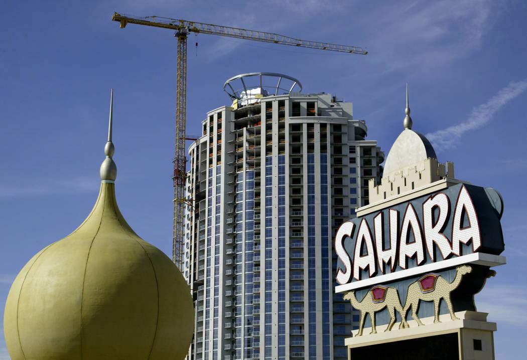 El Sahara en Las Vegas Strip, 5 de marzo de 2007.