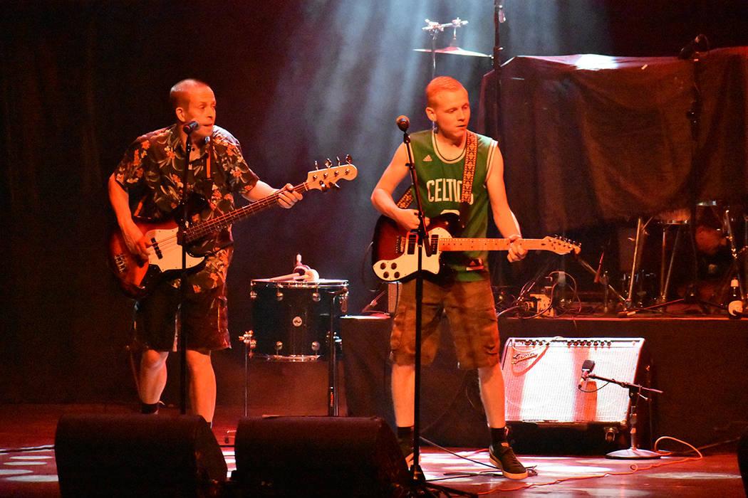 Bandas locales abrieron el espectáculo de Panteón Rococó. Miércoles 11 de julio de 2018 en House of Blues. Foto Anthony Avellaneda / El Tiempo.