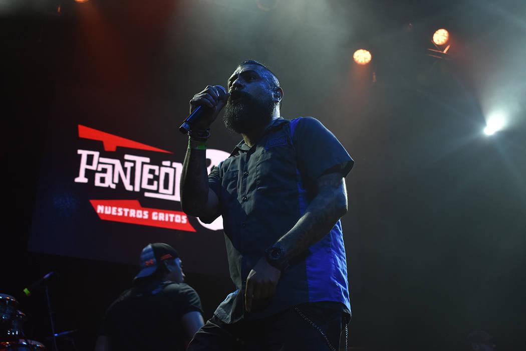 Panteón Rococó presentó su nuevo sencillo 'Tonantzin' ante el público de Las Vegas. Miércoles 11 de julio de 2018 en House of Blues. Foto Anthony Avellaneda / El Tiempo.
