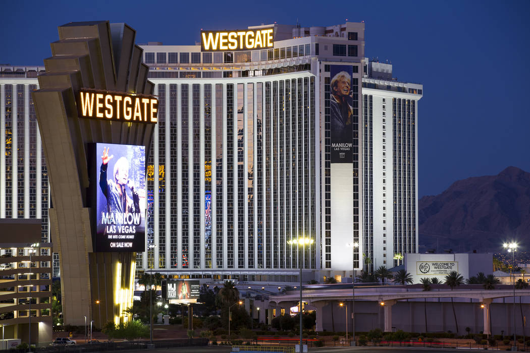 Westgate en Las Vegas (Richard Brian / Las Vegas Review-Journal) @vegasphotograph