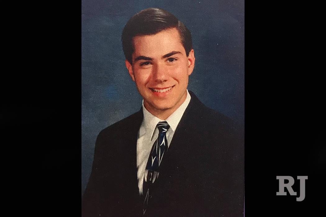 Jeremiah Miller se muestra en un retrato obtenido a través de la bóveda de evidencia del Tribunal de Distrito del Condado de Clark. Miller fue asesinado por Scott Dozier en 2002. (Tribunal de Di ...