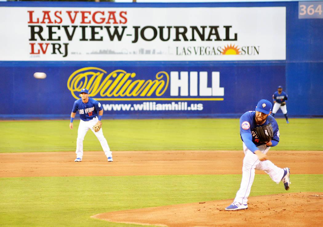 Las Vegas 51's ganaron la serie ante Albuquerque Isotopes 3 juegos por uno. El jueves 12 de julio en el Cashman Field. Foto Frank Alejandre / El Tiempo.