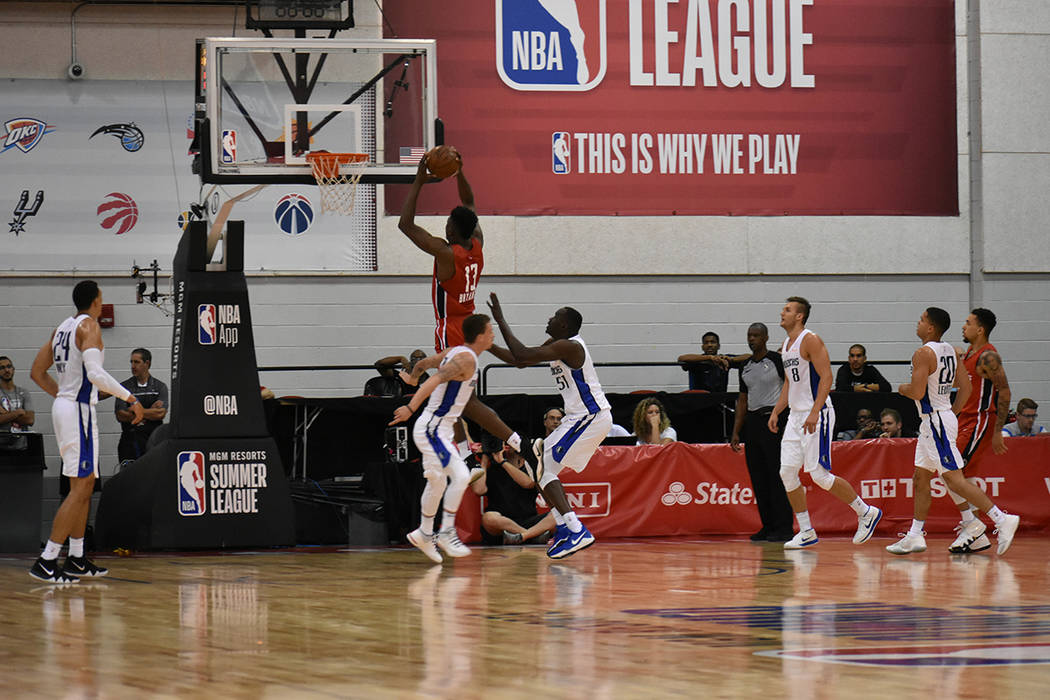 Intensos juegos se disputaron en la edición 2018 de NBA Summer League. Viernes 13 de julio de 2018 en Thomas & Mack Center. Foto Anthony Avellaneda / El Tiempo.
