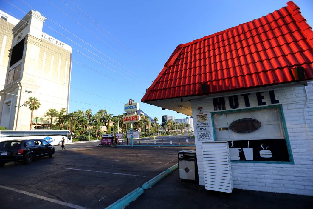 El Motel 8 cerrado en el sur del Strip de Las Vegas el jueves 19 de julio de 2018. K.M. Cannon Las Vegas Review-Journal @KMCannonPhoto