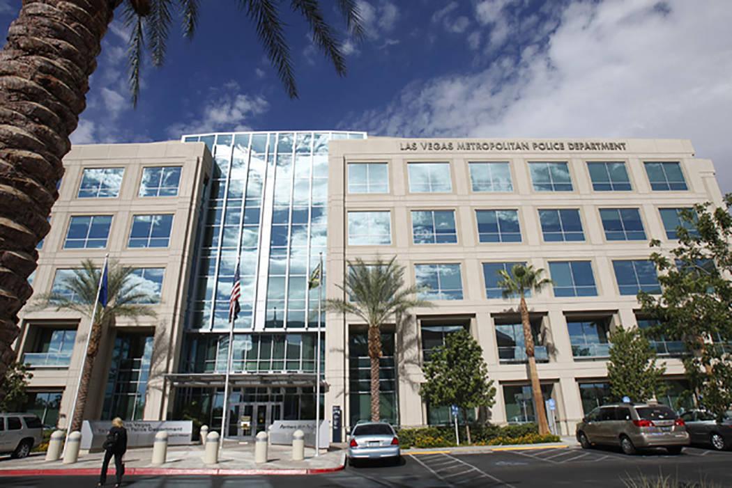 Sede del Departamento de la Policía Metropolitana de Las Vegas (Las Vegas Review-Journal)