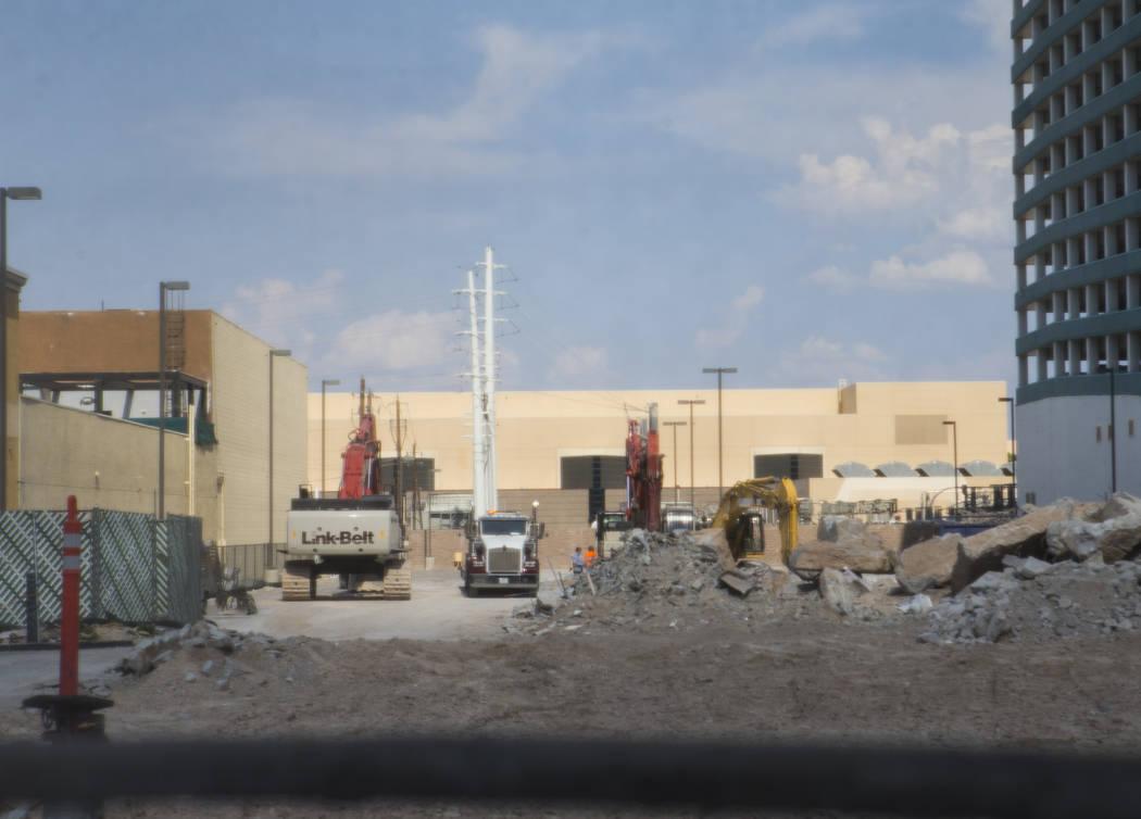 La ubicación en la que está programado que se abra un Target en 2020, junto al centro comercial Showcase Mall y el MGM Grand, en Las Vegas Boulevard, el miércoles 1 de agosto de 2018. El lugar ...
