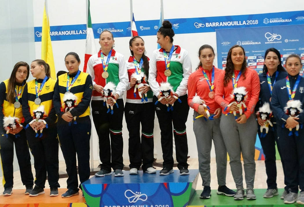 Barranquilla, Col., 28 Jul 2018 (Notimex-Especial).- La mexicana Paola Longoria se colgó su tercera medalla de oro de los Juegos Centroamericanos y del Caribe Barranquilla 2018, al quedar campeon ...
