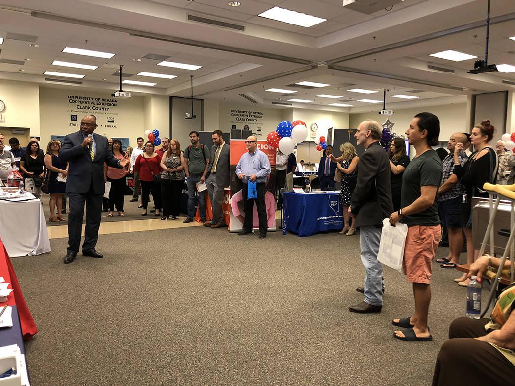 El 1 de agosto del 2018, en la Extensión Cooperativa de la Universidad de Nevada Las Vegas, entró en operación un nuevo servicio para la pequeña empresa local. Foto Valdemar González / El Tie ...