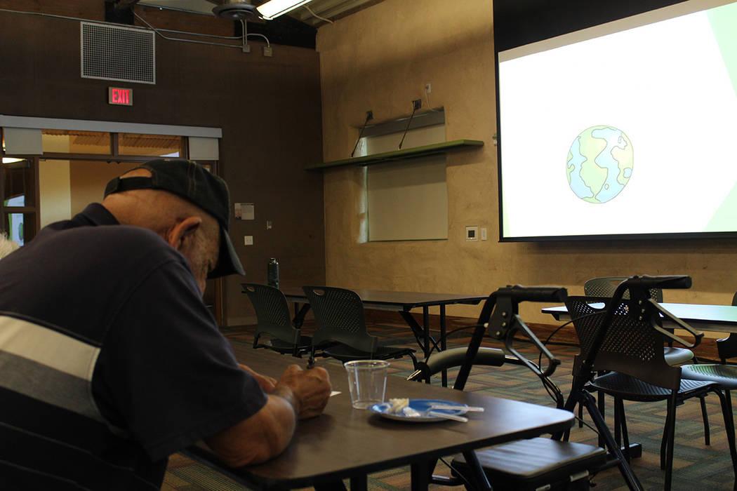 Diversas organizaciones ambientalistas convocaron a la conferencia de los especialistas. Jueves 2 de agosto de 2018 en el Springs Preserve. Foto Cristian De la Rosa / El Tiempo - Contribuidor.