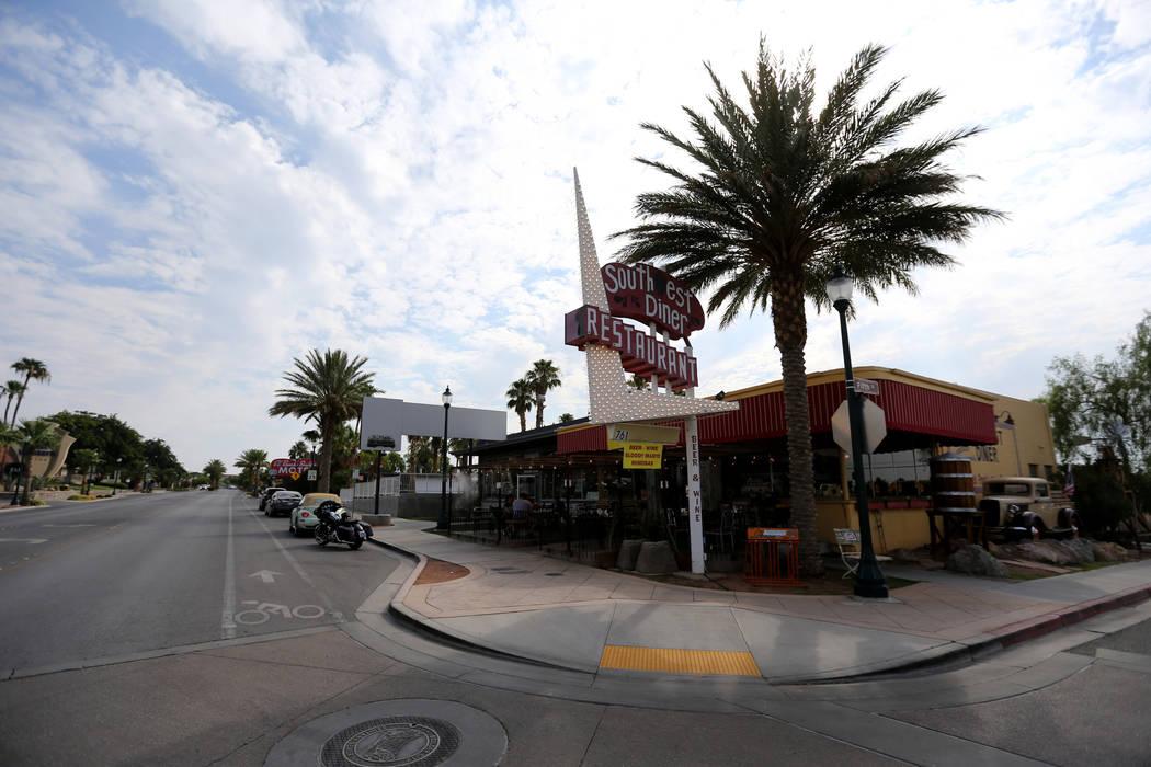 Southwest Diner en la esquina de Nevada Way y 5th Street en Boulder City Miércoles, 1 de agosto de 2018. K.M. Cannon Las Vegas Review-Journal @KMCannonPhoto