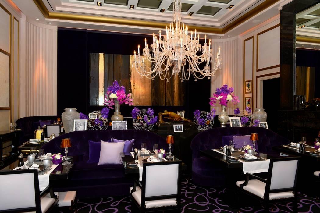 Restaurante Joёl Robuchon en MGM. (Bryan Steffy)