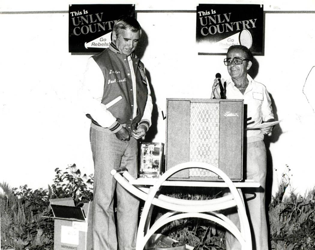 Paul Laxalt. (Foto de archivo / Las Vegas Review-Journal)