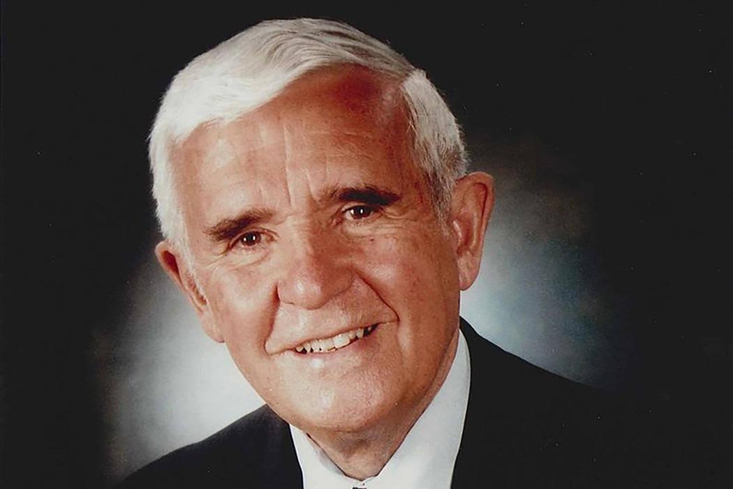 El ex senador de Nevada y gobernador, Paul Laxalt (Cortesía)
