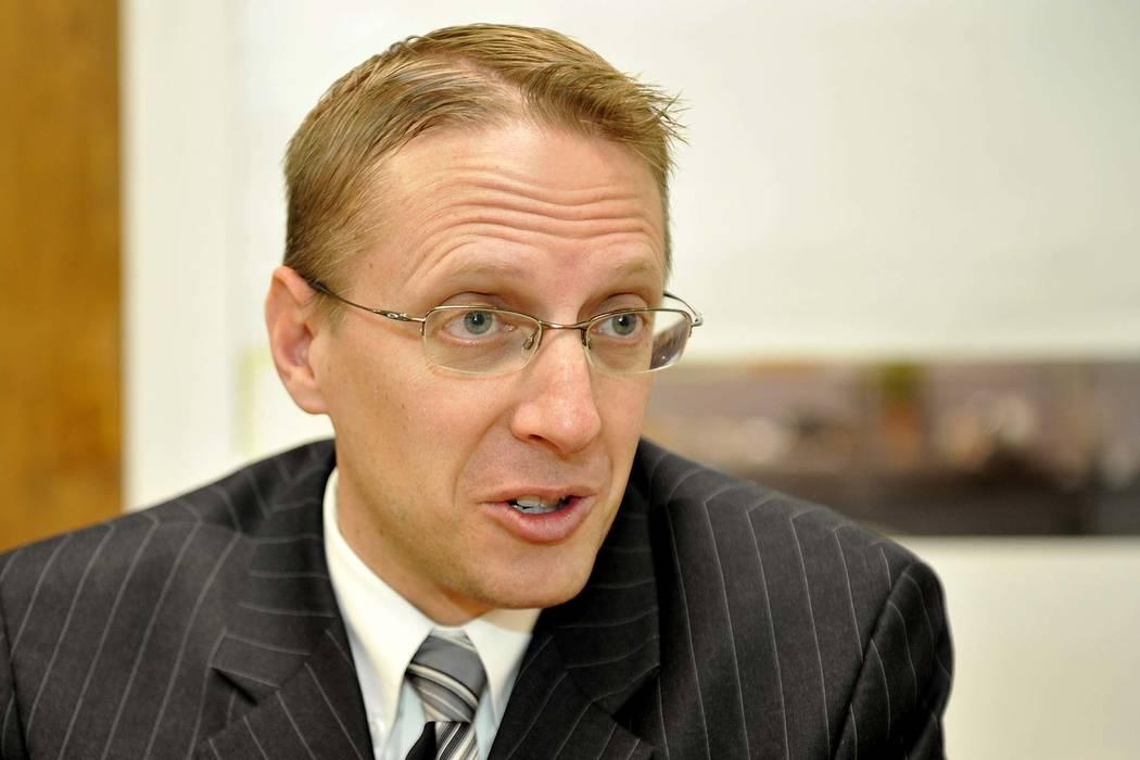 Judge Joe Hardy Jr. (Mark Damon/Las Vegas Review-Journal)