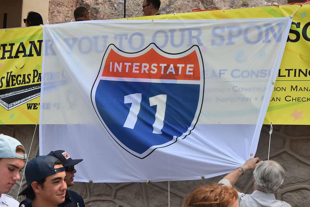 Con la construcción de la nueva I-11 se reducirá el lapso de viaje entre Phoenix y Las Vegas. Jueves 9 de agosto de 2018 en Boulder City, Nevada. Foto Anthony Avellaneda / El Tiempo.