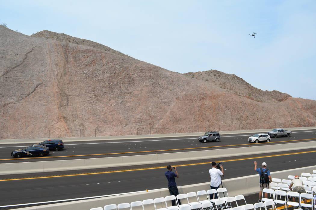 Con la construcción de la nueva I-11 se reducirá el lapso de viaje entre Phoenix y Las Vegas. Jueves 9 de agosto de 2018 en Boulder City, Nevada. Foto Frank Alejandre / El Tiempo.