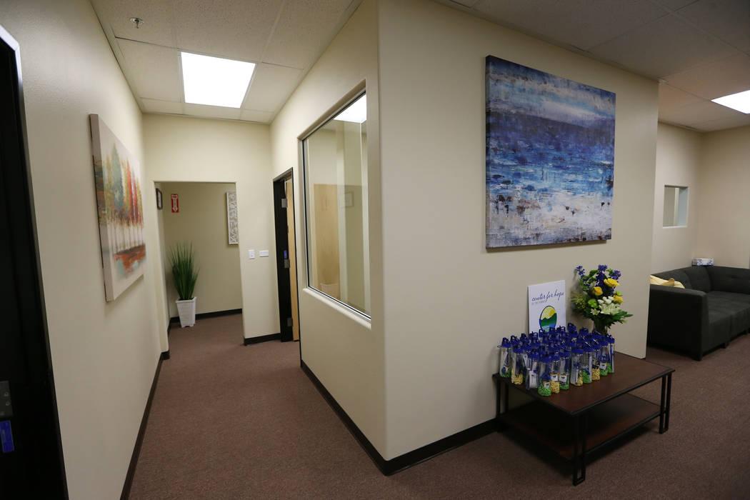 Center for Hope, un centro de tratamiento de trastornos alimenticios, durante un evento de puertas abiertas en Henderson, jueves 28 de junio de 2018. Erik Verduzco Las Vegas Review-Journal @Erik_V ...