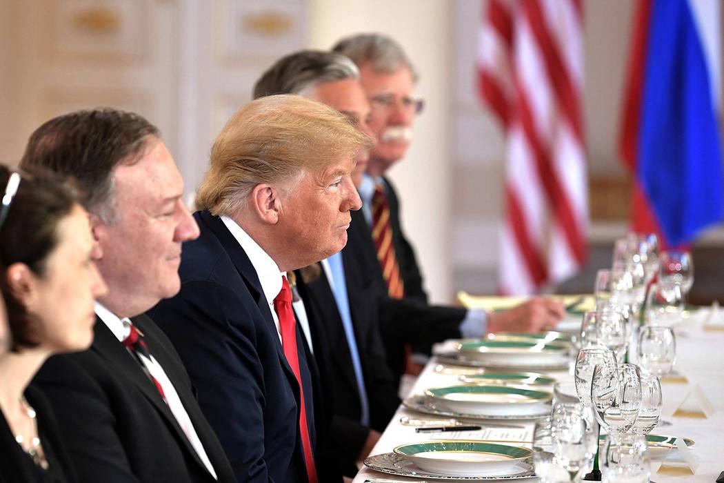 Archivo. Helsinki, 16 Jul 2018 (Notimex- DPA).- La histórica cumbre entre los presidentes de Rusia, Vladimir Putin, y de Estados Unidos, Donald Trump, comenzó hoy en el Palacio Presidencial de ...