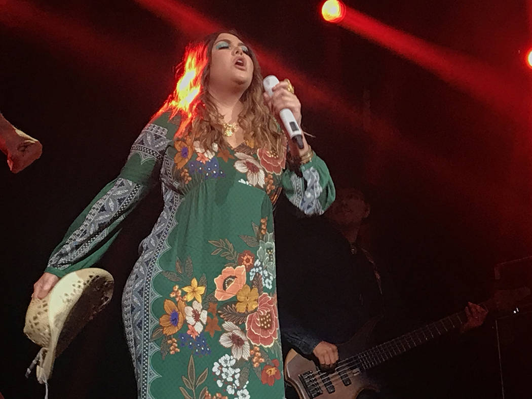 La cantante mexicana Yuridia cautivó a su público de Las Vegas presentando un exitoso concierto dentro de su gira 'Desierto Tour'. Jueves 16 de agosto de 2018 en House of Blues. Foto Anthony ...