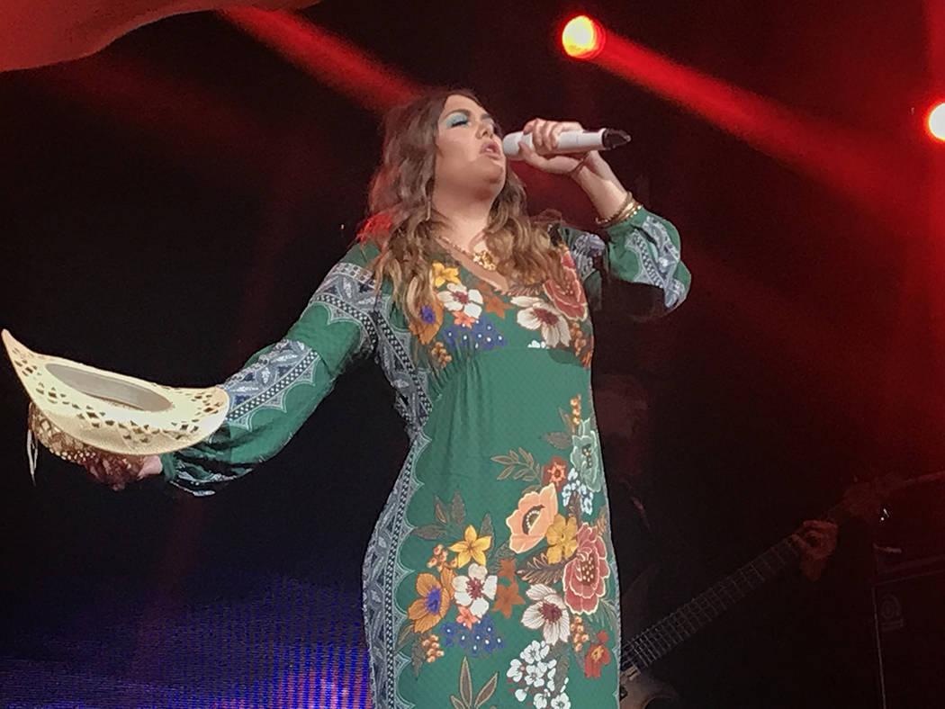 Yuridia deleitó a los asistentes con su peculiar estilo vocal. Jueves 16 de agosto de 2018 en House of Blues. Foto Anthony Avellaneda / El Tiempo.