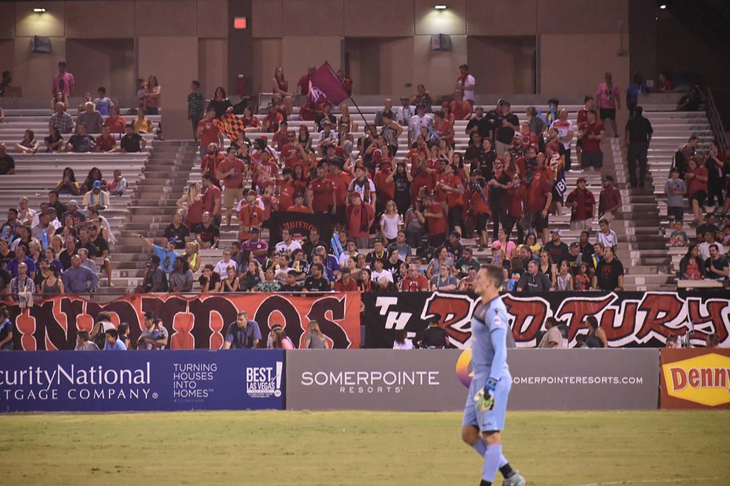 Phoenix derrotó 2-0 a Las Vegas y continúa siendo protagonista de la USL. Sábado 18 de agosto de 2018 en el estadio Cashman. Foto Anthony Avellaneda / El Tiempo.