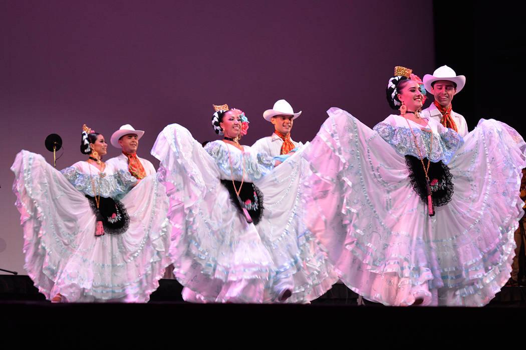 Estampas de México, un recorrido por el folclor veracruzano en Las Vegas. Viernes 17 de agosto de 2018 en el Artemus W. Ham Concert Hall de UNLV. Foto Frank Alejandre / El Tiempo.