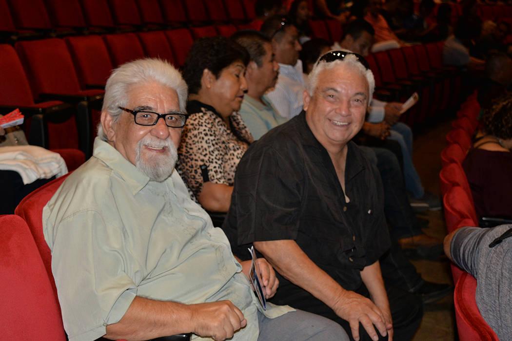 Sergyo Salgado y José Luis Gutiérrez –derecha- presenciaron el arranque de la gira México en el Corazón 2018 en Las Vegas. Viernes 17 de agosto de 2018 en el Artemus W. Ham Concert Hall de U ...