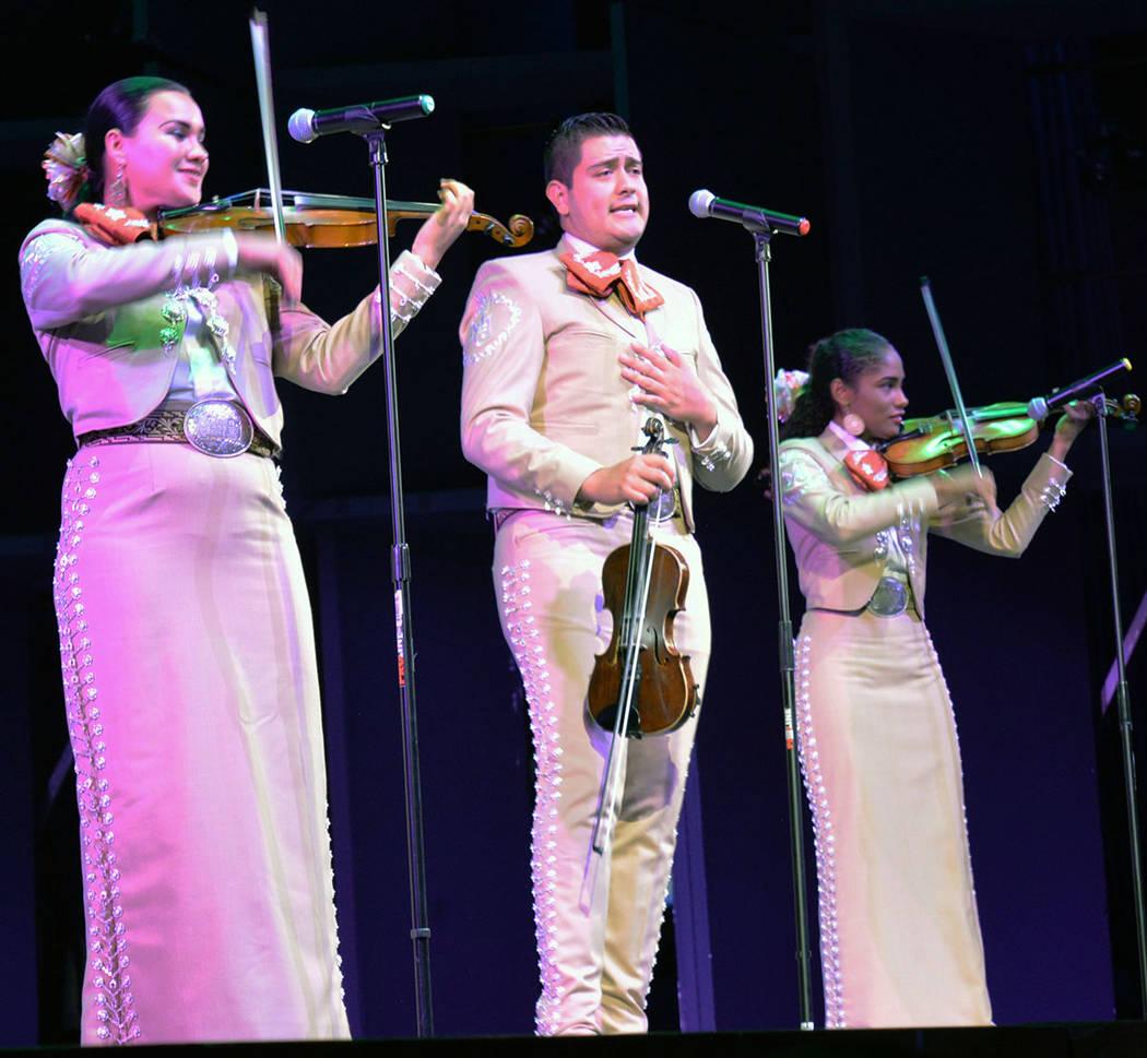 La gira México en el Corazón 2018 empezó en Las Vegas. Viernes 17 de agosto de 2018 en el Artemus W. Ham Concert Hall de UNLV. Foto Frank Alejandre / El Tiempo.