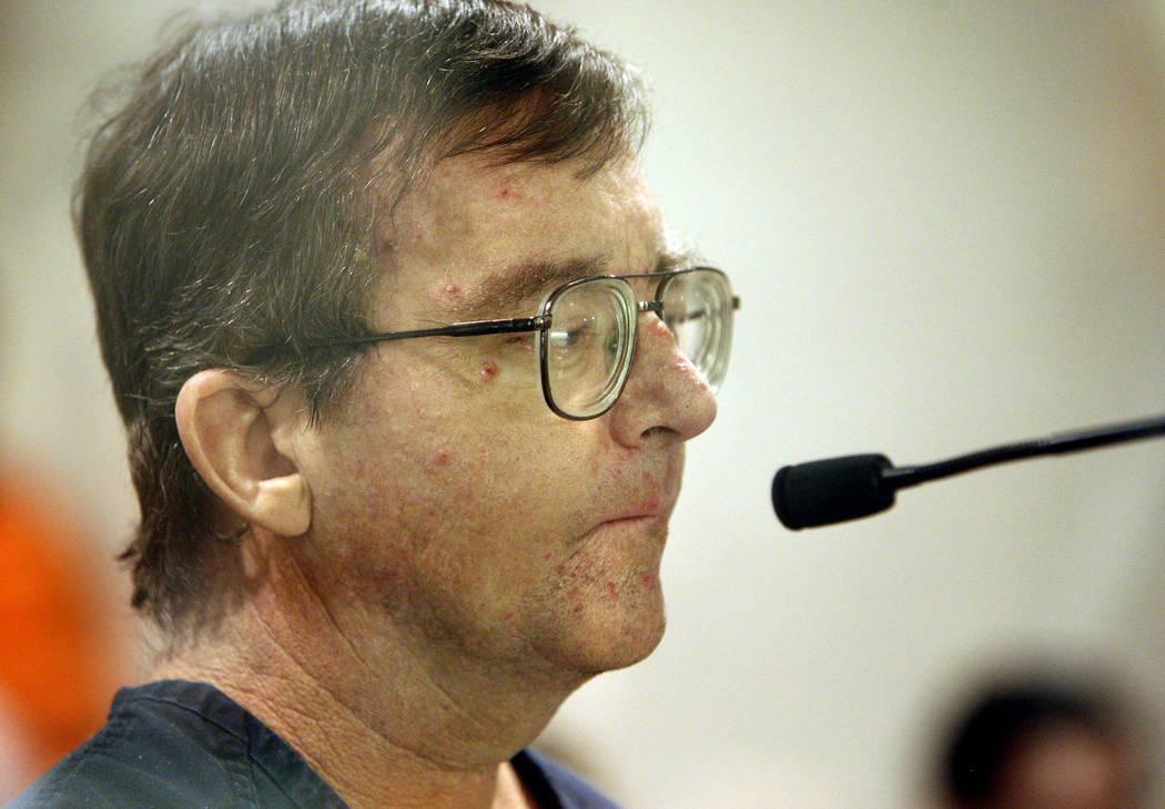 Charles Richard Rogers, enviado a prisión en 2010 por producir pornografía infantil y agredir sexualmente a menores, murió en prisión el lunes 20 de agosto de 2018. (Las Vegas Review-Journal)