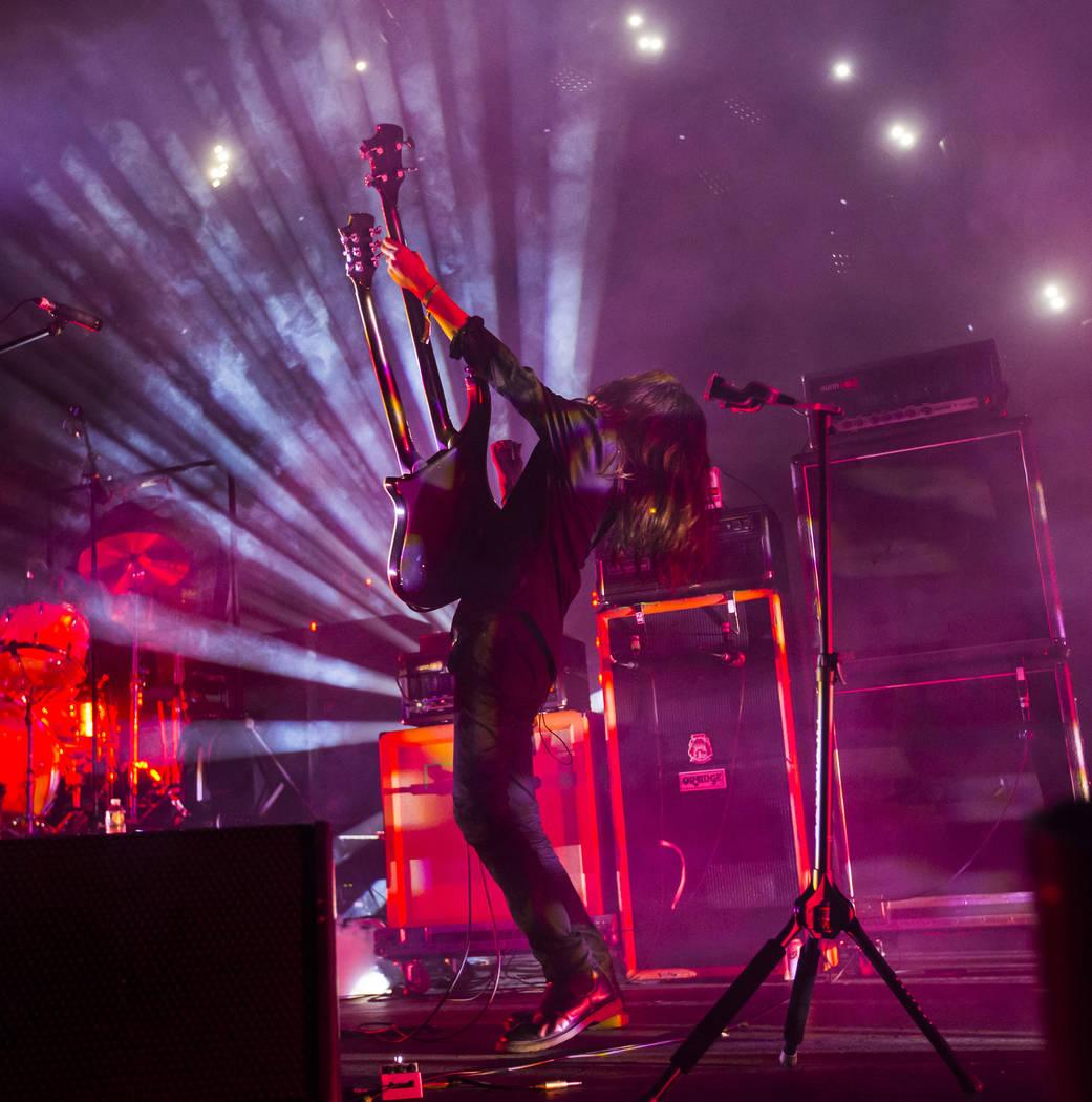 Takeshi de Boris se presenta en The Joint durante el festival de música Psycho Las Vegas en el Hard Rock Hotel de Las Vegas el viernes 17 de agosto de 2018. Chase Stevens Las Vegas Review-Journal ...