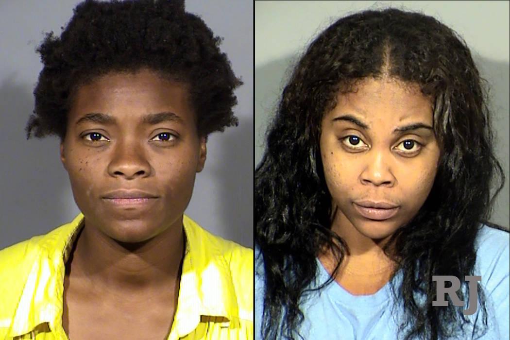 Keara Green, izquierda, y Keyherra Green, derecha ((Departamento de Policía Metropolitana de Las Vegas)