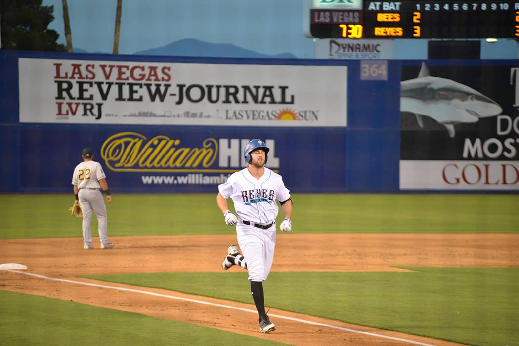 Las Vegas Review Journal es patrocinador del equipo de béisbol local Las Vegas 51's. Martes 21 de agosto de 2018 en el Cashman Field. Foto Frank Alejandre / El Tiempo.