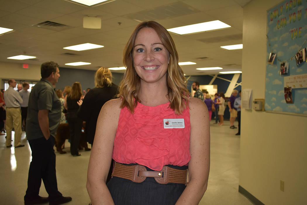 """""""Es una noche muy especial para nosotros"""", comentó la directora de mercadotecnia y eventos de NBCF, Leslie Jones. Lunes 20 de agosto en el Centro de Aprendizaje de Nevada Blind Children's Fou ..."""
