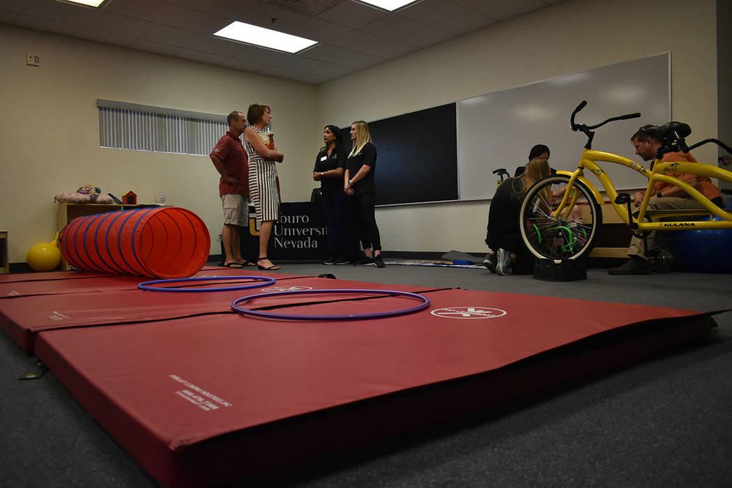 El Centro de Aprendizaje NBCF consta de un edificio de 12,000 pies cuadrados, el cual proporcionará más espacio y amenidades para los jóvenes con discapacidad visual. Lunes 20 de agosto en el C ...