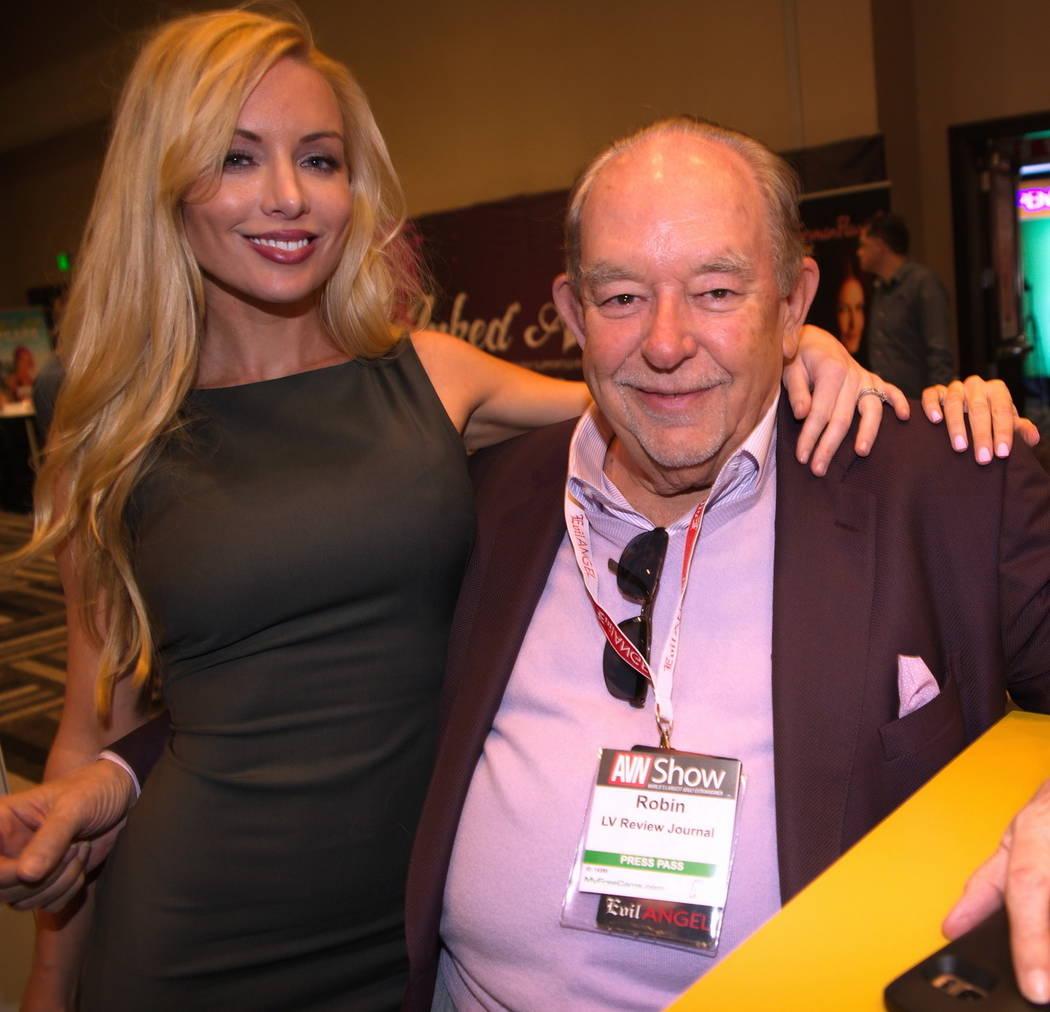 Robin Leach en el Hard Rock Hotel el miércoles, 18 de enero de 2017, en Las Vegas. (Hew Burney)