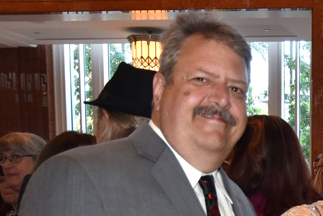 Jason Wright, profesor de la escuela primaria George E. Harris en Las Vegas (Flickr)
