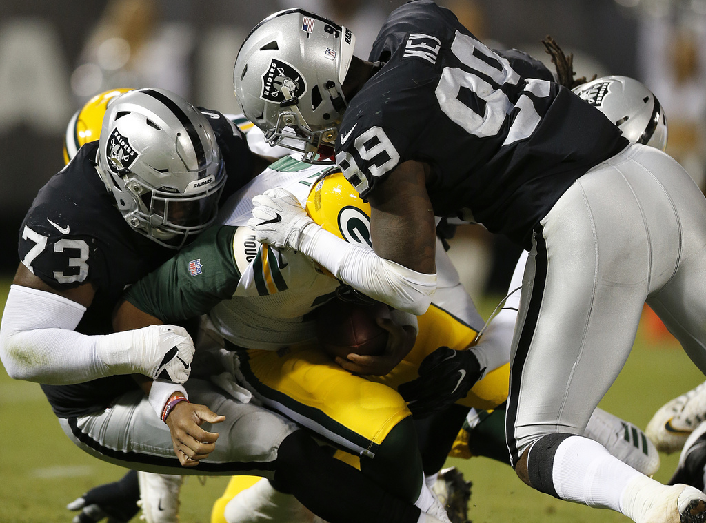 Packers Raiders Football