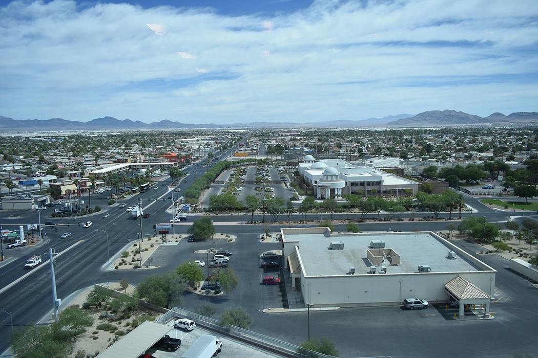 Vista de la ciudad de North Las Vegas. Jueves 30 de agosto en el edificio municipal de North Las Vegas. Foto Anthony Avellaneda / El Tiempo.