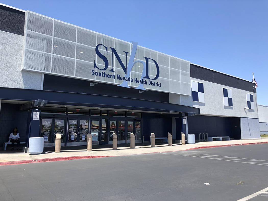 Vista general de las oficinas centrales del Distrito de Salud del Sur de Nevada. El 5 de septiembre de 2018. Foto Valdemar González / El Tiempo - Contribuidor.